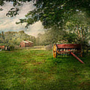 Country - The Crops Almost Ready  Art Print