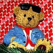 Country Bear Valentine Art Print