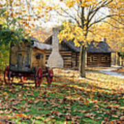 Country Living Art Print by Franklin Conour