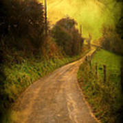 Countryside Road Art Print