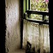 County Kerry, Ireland Cottage Window Art Print
