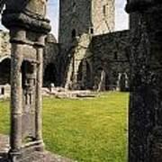 County Kilkenny, Ireland Jerpoint Abbey Art Print