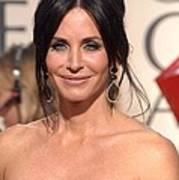 Courteney Cox Wearing Ofira Schwartz Art Print
