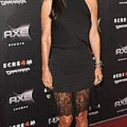 Courteney Cox Wearing The Row Print by Everett