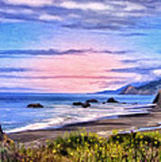 Cove On The Lost Coast Art Print