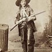 Cowboy, 1880s Art Print by Granger