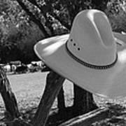 Cowboy Fashion Art Print