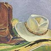 Cowboy Life Art Print