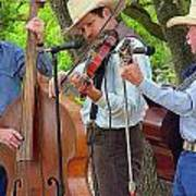 Cowboy Music Art Print
