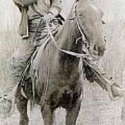 Cowboy Robber, C1900 Art Print