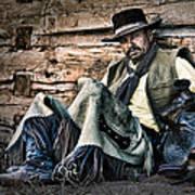 Cowboy Stare-down Art Print