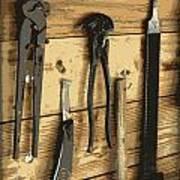 Cowboy's Tools Art Print