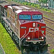 Cp Rail Engine Art Print
