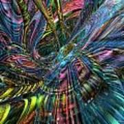 Cr8zy Butterfly Fx  Art Print
