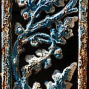 Crackled Coats Art Print
