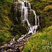 Crater Lake Falls Art Print