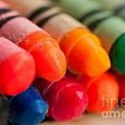 Crayons 2 Art Print