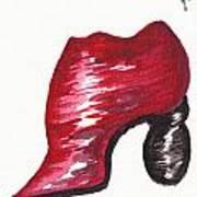 Creativity Shoe Art Print
