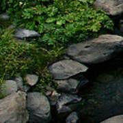 Creek Flow Panel 2 Art Print
