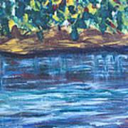 Creek In Sarasota Art Print