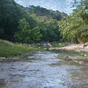 Creek Near Camp Verde  9107 Art Print