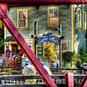 Creek Street - Ketchikan Alaska Art Print