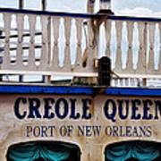 Creole Queen Art Print
