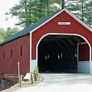 Cresson Covered Bridge Art Print