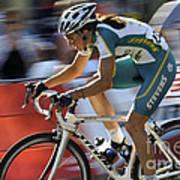 Criterium Bicycle Race 2 Art Print