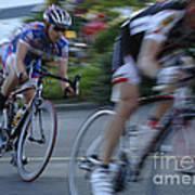 Criterium Bicycle Race 4 Art Print