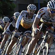 Criterium Bicycle Race 5 Art Print