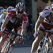 Criterium Bicycle Race 7 Art Print