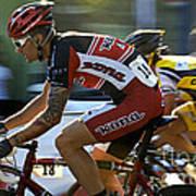 Criterium Bicycle Race1 Art Print