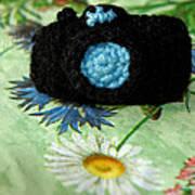 Crochet Camera Color Art Print