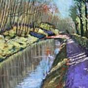 Cromford Canal Art Print