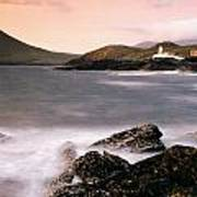 Cromwell Point Lighthouse, Valentia Art Print