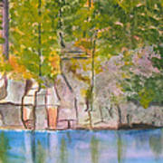 Crooked Creek 1 Art Print