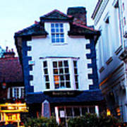 Crooked House Of Windsor Art Print