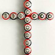 Cross Batteries 1 A Art Print