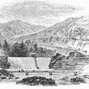 Croton Dam, 1860 Art Print