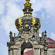 Crown Gate - Kronentor Zwinger Palace Dresden Art Print by Christine Till
