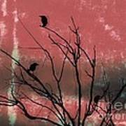 Crows The Watcher Art Print by Sacred  Muse