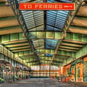 Crrnj Terminal I Art Print
