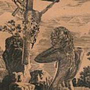 Crucifixion Art Print by Sirenko