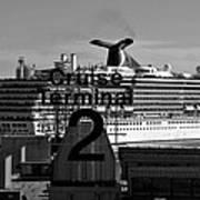 Cruise Terminal Two Art Print