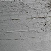 Crumbling Concrete Art Print