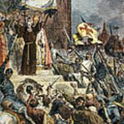Crusades: Peter The Hermit Art Print