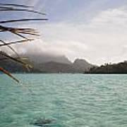 Crystal Island Bora Bora Art Print