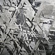 Crystal Structures In Meteorite Art Print