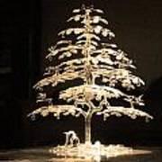 Crystal Tree Art Print